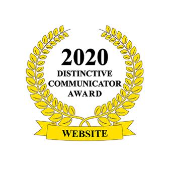 2020 Distinctive Communicator - Newsletter